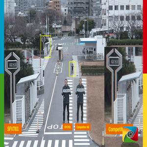 Line crossing در دوربین های مداربسته